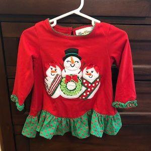 Holiday snowman shirt